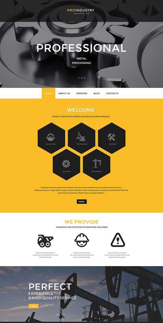 ProIndustry-WordPress-Theme