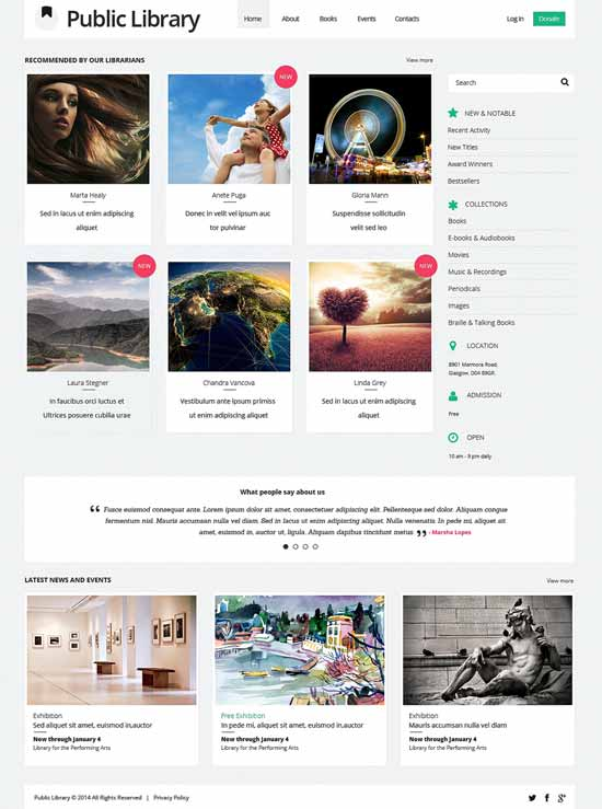 Public-Library-Book-Reviews-Responsive-Website-Template