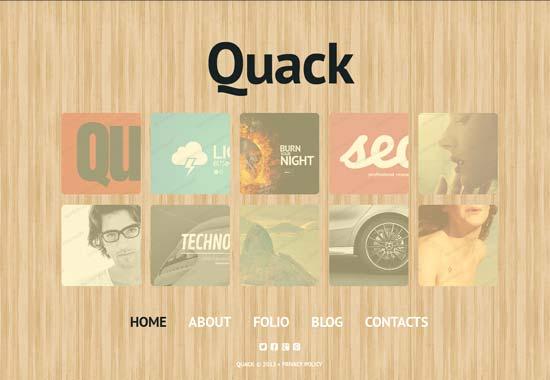 Quack-Design-Studio-Website-Template
