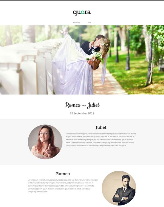 Quora-bridal-Free-WordPress-theme