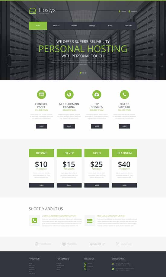 Reliable-Hosting-Company-WordPress-Theme