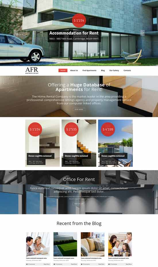 Renting-Apartments-Joomla-Template
