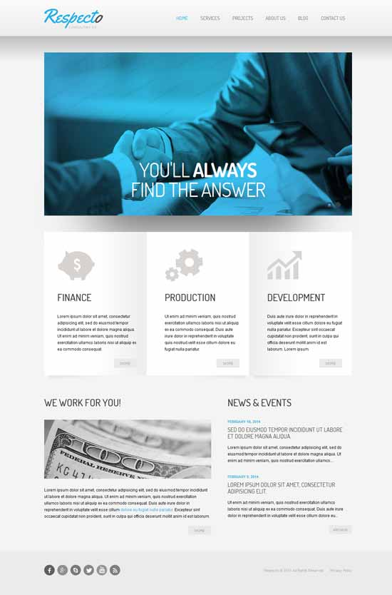 Respecto-Consulting-Responsive-Website-Template