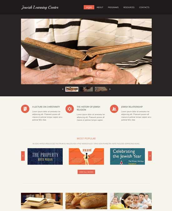 Responsive-Christian-Website-Template