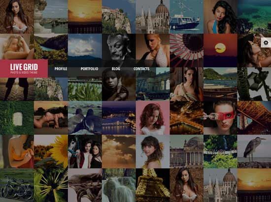 Responsive-Interactive-HTML-Photography