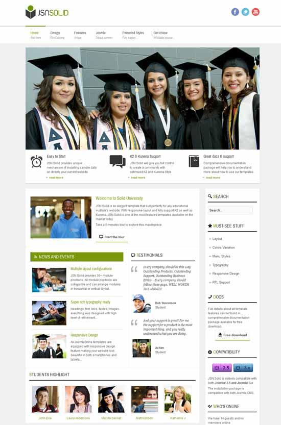 Responsive-Joomla-Education-Template
