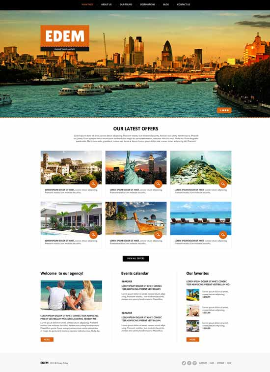 Responsive-Joomla-Travel-Template