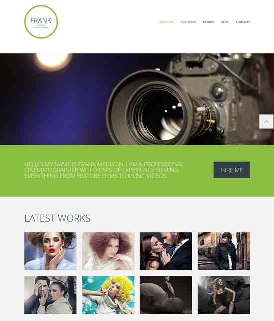 Responsive-Photographer-Website-Template