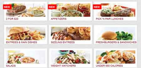 CSS3 Hover Effects Style Restaurant Menus