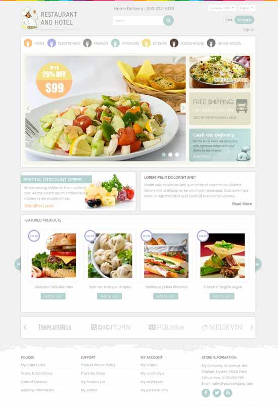 Restaurant-Prestashop-Responsive-Theme