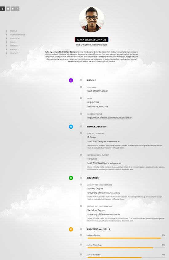 Resume-Timeline