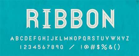 Ribbon-royalty-free-fonts