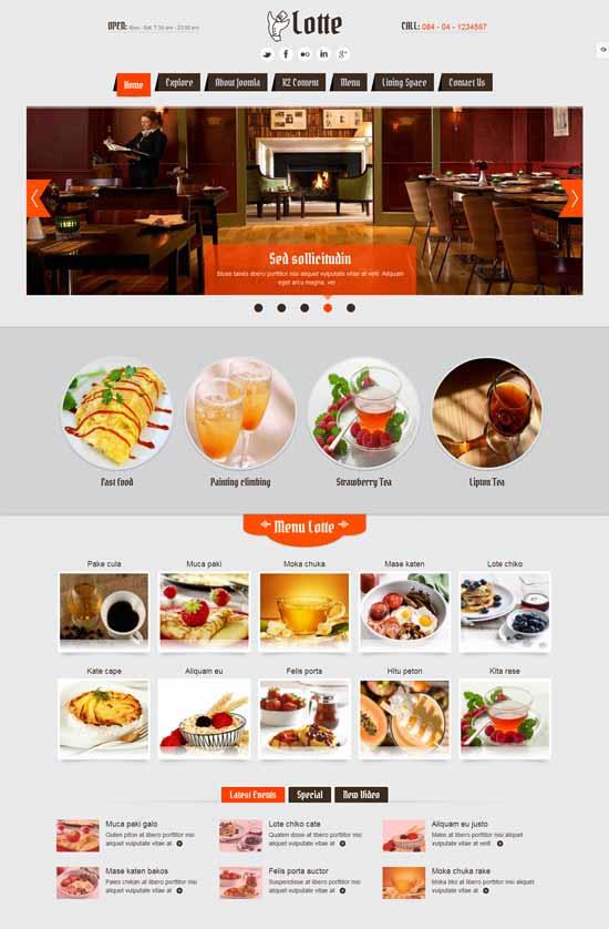 SJ-Lotte-Responsive-Restaurant-Joomla-Template