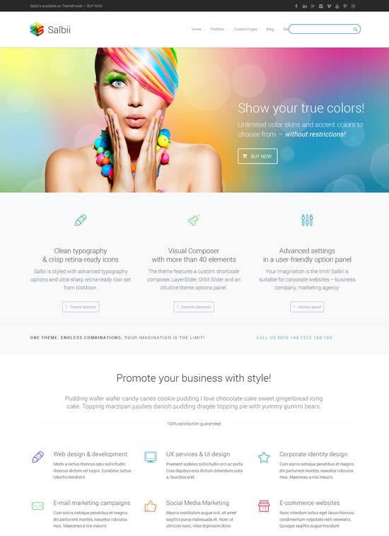 Salbii-Responsive-landing-page-WordPress-Theme