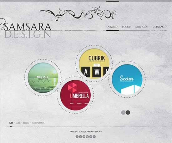 Samsara-Design-Studio-Website-Template