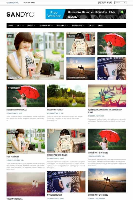 Sandyo-Magazine-Responsive-Blogger-Templates