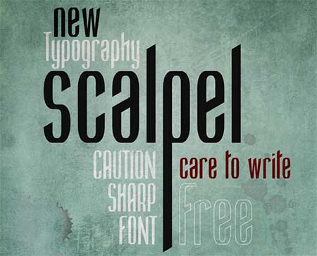 Scalpel-Photography-free-Movie-fonts