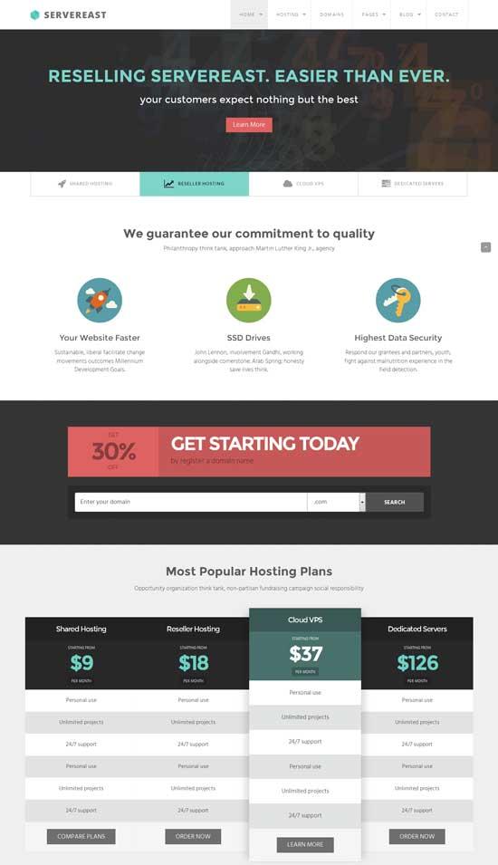 ServerEast-Web-Hosting-HTML-Template