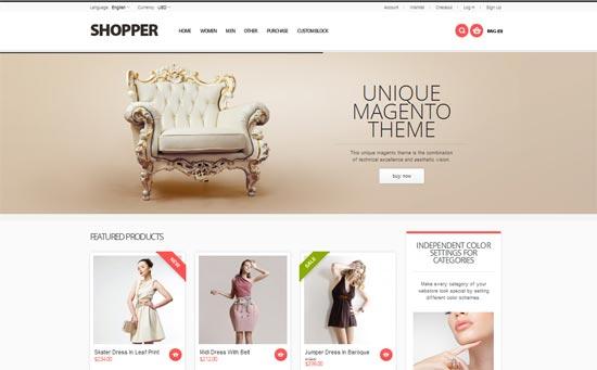 Shopper - Magento Theme, Responsive Retina Ready