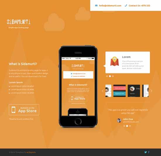 Sidamurti-Free-landing-page-Responsive-template