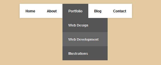 Another Simple CSS3 Dropdown Menu