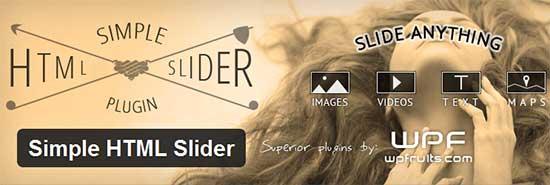 Simple-HTML-Slider-Free-WordPress-Slider-Plugins