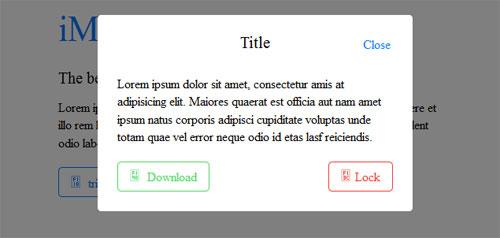 Simple-modal-with-iOS-7-styles