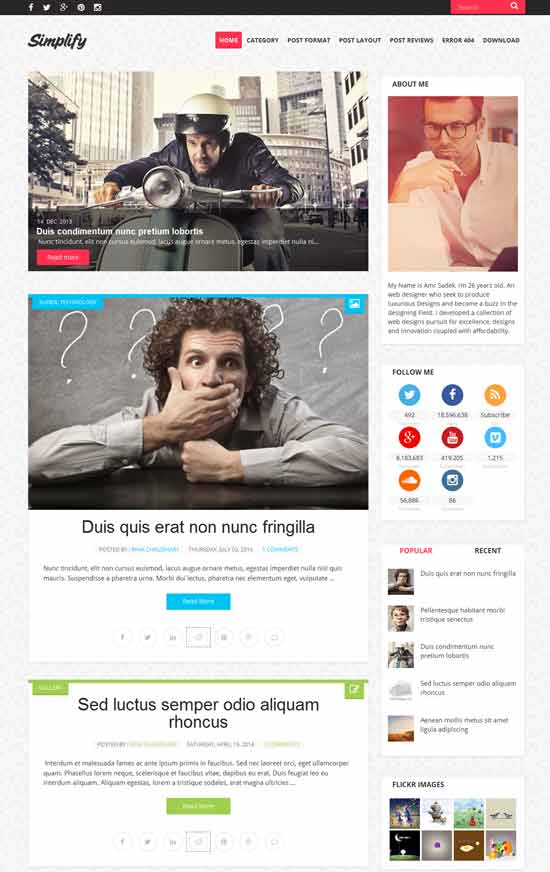 Simplify-Clean-Free-Blogger-Template