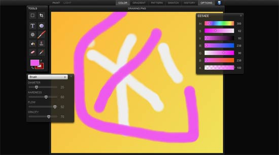Sketchpad html5 animation