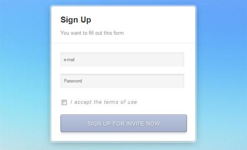 Sleek-Sign-Up-Form