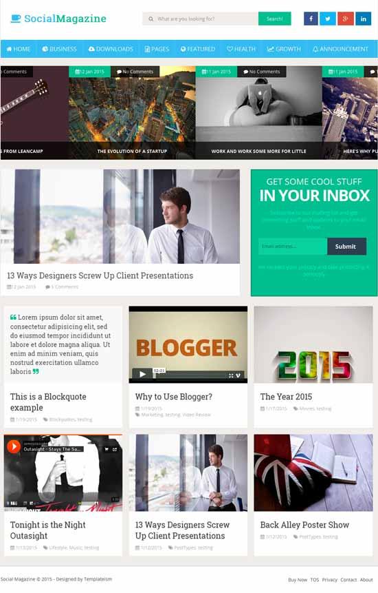 Social-Mag-Free-Blogger-Template