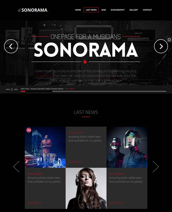 Sonorama-Onepage-Music-Template