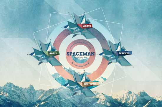 Spaceman-Parallax-Design-Studio-Template