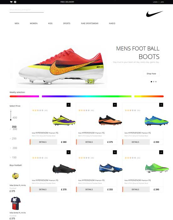 Spike-Free-Shoes-Flat-ECommerce-Responsive-Template