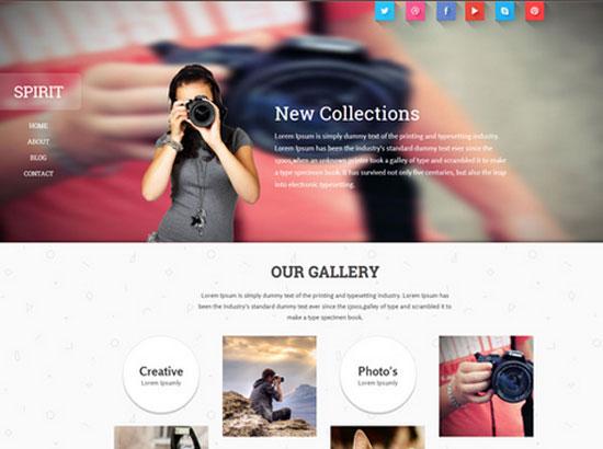 Spirit-Free-Flat-Responsive-Photographer-portfolio-Template