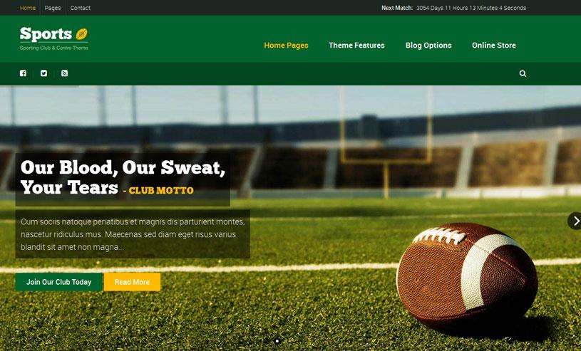 2a6b9aed59afa7 55+ Best Sports WordPress Themes Free and Premium - freshDesignweb