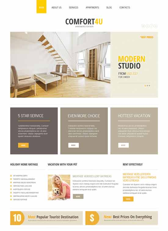 Square-Real-Estate-Joomla-Template