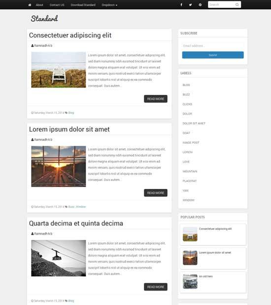 Standard-Blogger-Template-Simple-Responsive-Blogger-Theme