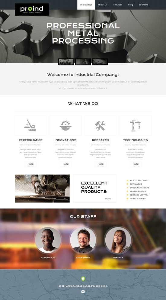 Steelworks-Responsive-WordPress-Theme