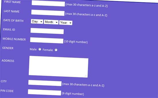 Student-Registration-Form