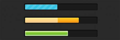 Stylish-CSS3-progress-bars