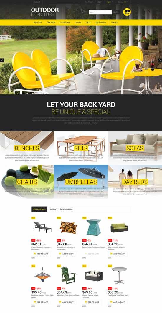 Stylish-Outdoor-Furniture-PrestaShop-Theme