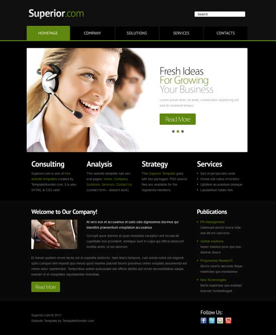 Superior-Free-Business-Website-Template