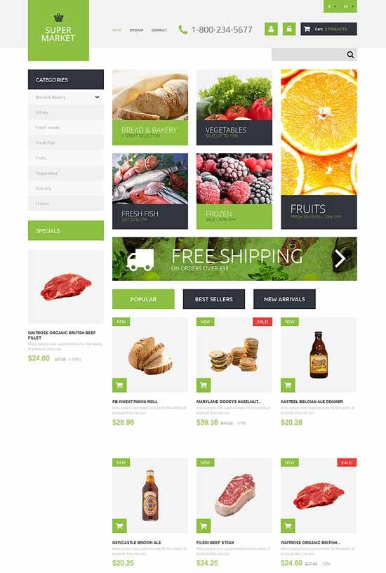 Supermarket-Template-PrestaShop-Theme