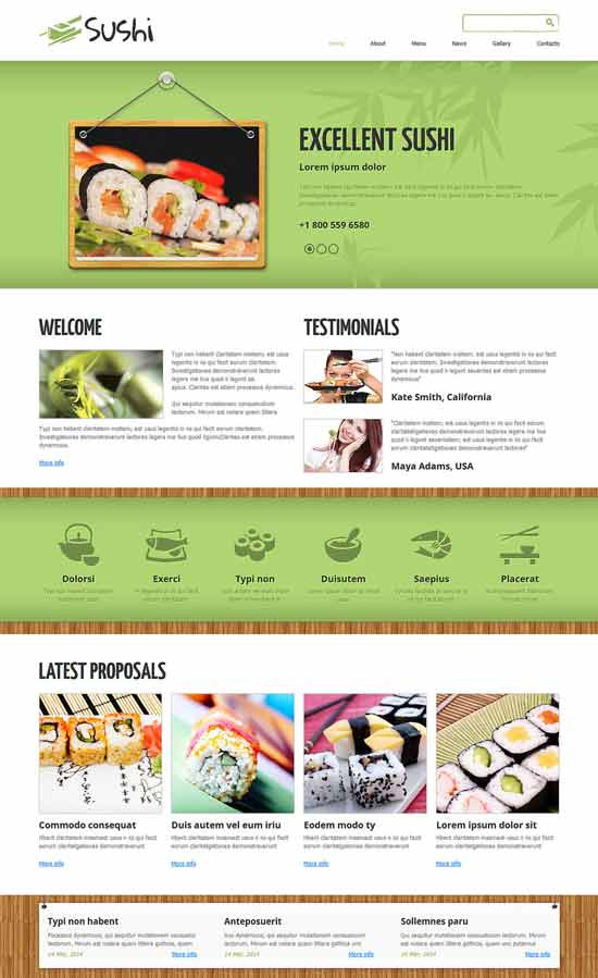 Sushi-Bar-Responsive-Joomla-Template