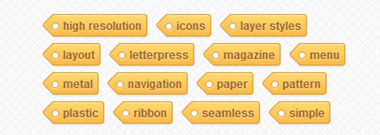 Tag Cloud with CSS3 Transformations