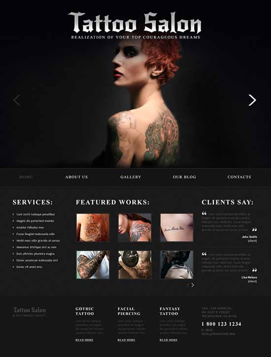 Tattoo-Salon-Responsive-Joomla-Template