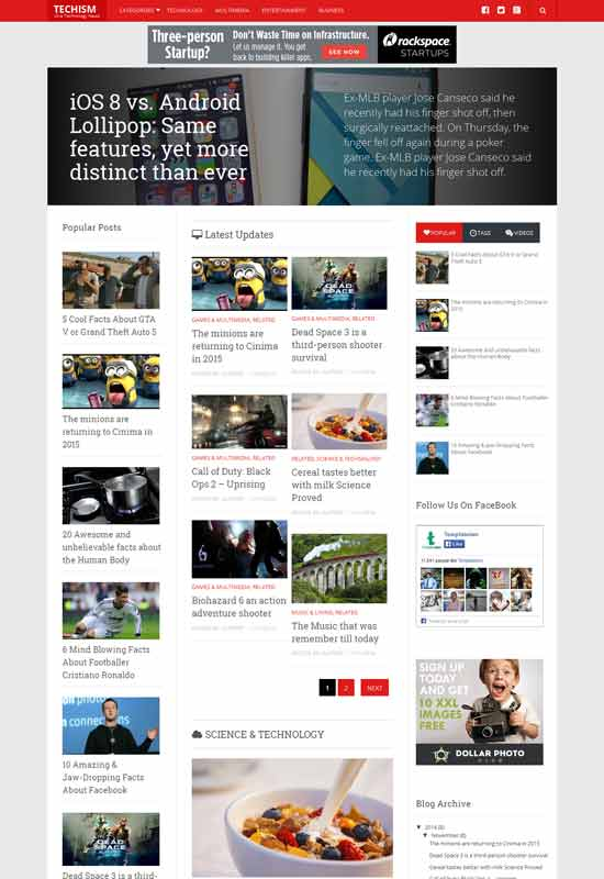 Techism-Free-Responsive-Blogger-Template
