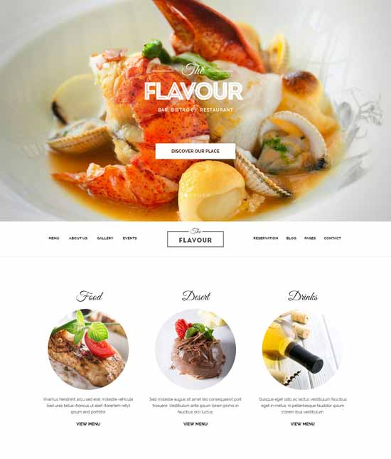 The-Flavour-Restaurant-WordPress-Theme