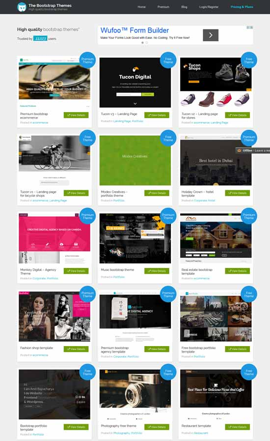 Thebootstrapthemes
